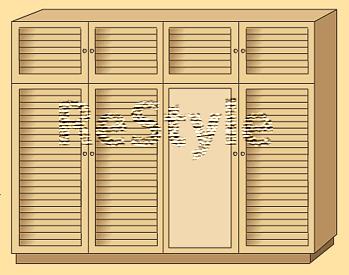 Ре-Стайл - жалюзийные двери и дверцы из дерева